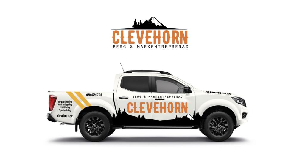 Clevehorn bildekor