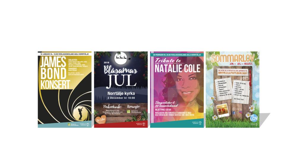 Norrtälje kommun affischer